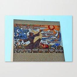 Lourdes University- Canticle of Creation (horizontal) Canvas Print