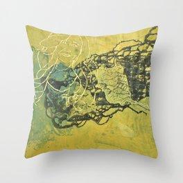 Kleptomaniac Throw Pillow