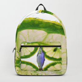 Lime Fish Backpack