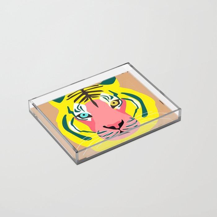 Tiger Acrylic Tray