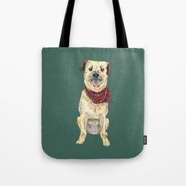 Luna the Pup Tote Bag
