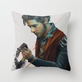 Eliot King Throw Pillow
