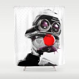 Tears of Clown Shower Curtain