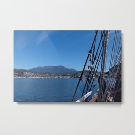 Mt. Wellington Metal Print