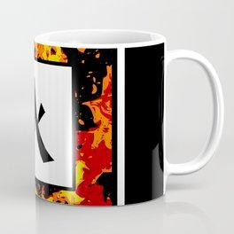 Fire - Japanese Kanji - Hi Coffee Mug