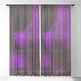 jazzy feeling Sheer Curtain