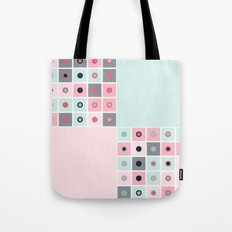 Spotted geometric pattern Tote Bag