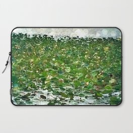 Lily Pads On The River Laptop Sleeve