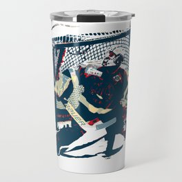 Goalie - Ice Hockey Player Travel Mug