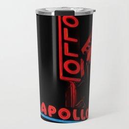 Harlem's Apollo Theater Portrait Painting Travel Mug