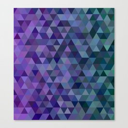 Triangle tiles Canvas Print