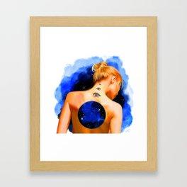 Divine Feminine 2 ( Introspection Has No End ) Framed Art Print