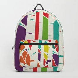 Whimsical birch forest Backpack