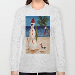 Christmas Sandman Long Sleeve T-shirt