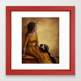 The Kennelmaster's Grandchild Framed Art Print