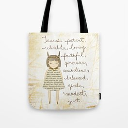 Taurus girl Tote Bag