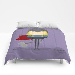 My handy hero! Comforters