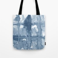 indigo Tote Bags featuring Indigo by Dream Of Forest