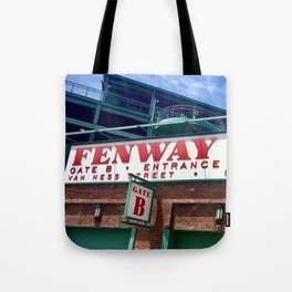 FENWAY SIGN Tote Bag