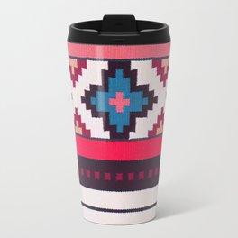 V32 Anthropologie Boho Moroccan Design. Travel Mug