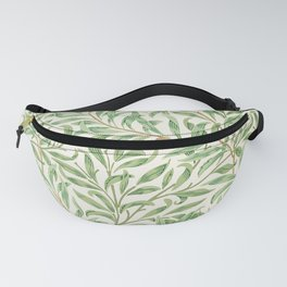 Classic Vintage Foliage Leaves Pattern Fanny Pack