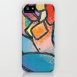 Nude In Sun Rays iPhone Case