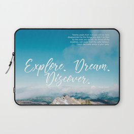 EXPLORE / DREAM / DISCOVER Laptop Sleeve