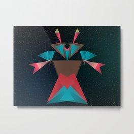 Opera Crab Metal Print