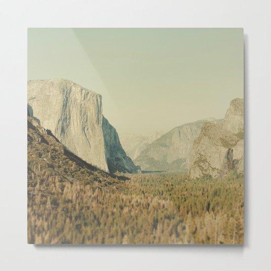 Yosemite Valley II Metal Print