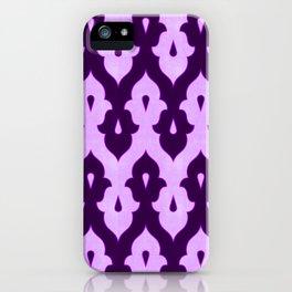 Mauresque Counterchange (Lilac) iPhone Case
