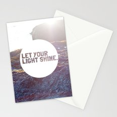 Let Your Light Shine Stationery Cards