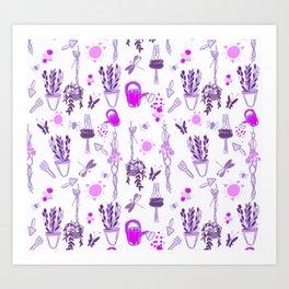 Indoor plant lover Art Print