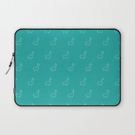 Baesic Llama Pattern (Teal) Laptop Sleeve