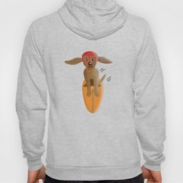 Surf Dog on Top of the Wave Hoody
