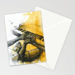 Classic Material Series - Keys in A Minor (c.2006) Stationery Cards