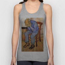At Eternity's Gate by Vincent van Gogh Unisex Tank Top