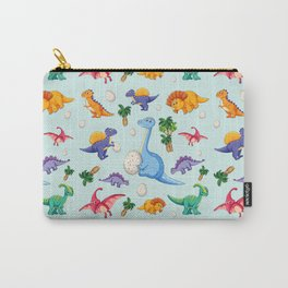 Colorful Cute Dinosaur Pattern Carry-All Pouch