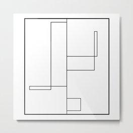 Rectangles Metal Print