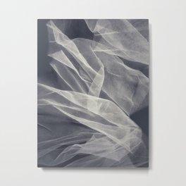 White veil 8 Metal Print