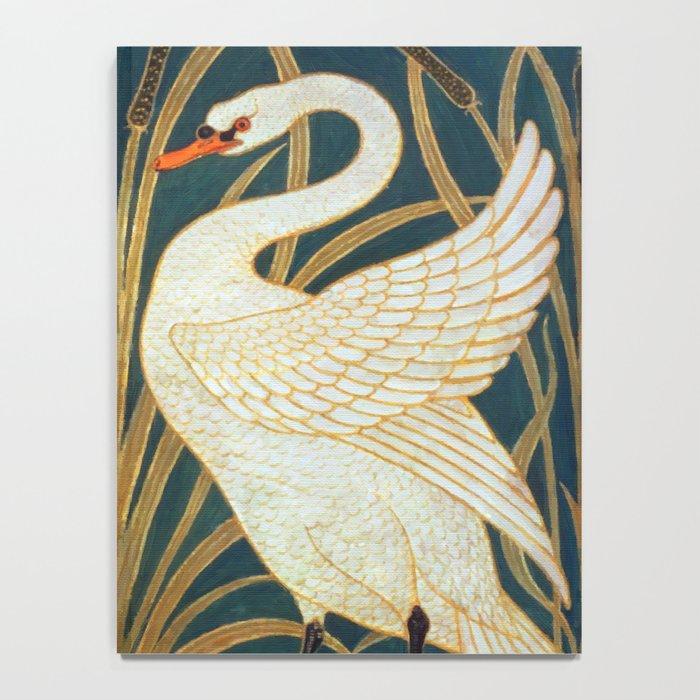 Walter Crane Swan, Rush And Iris Notebook