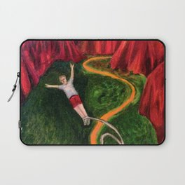 Bungee Jumping Laptop Sleeve