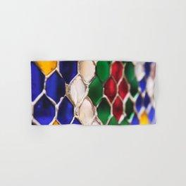 Multi colour wire pattern Hand & Bath Towel