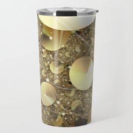 Golden Discs Travel Mug