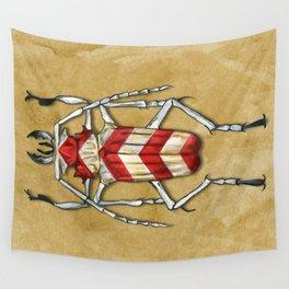 Stripped Psalidognathus Beetle Wall Tapestry