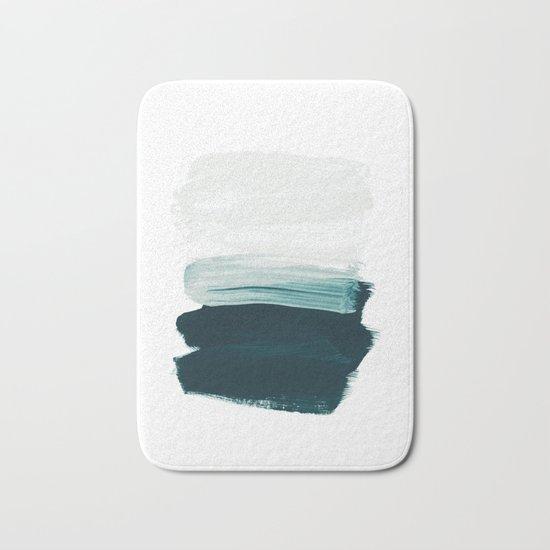 brushstrokes 13 Bath Mat