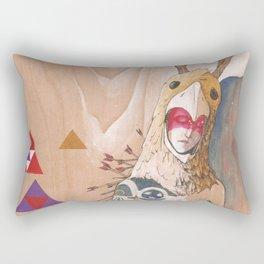 ofrenda y sacrificio / offering and sacrifice Rectangular Pillow