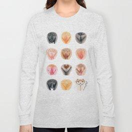 Vulva Diversity #1 Long Sleeve T-shirt