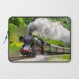 Oltimer Train on Transalpine Railway Laptop Sleeve