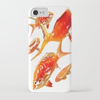 goldfish iPhone & iPod Cases featuring Goldfish by Regan's World