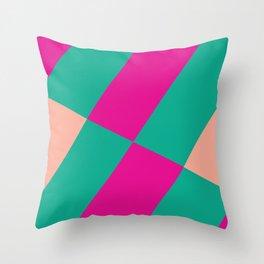 Candy Shop Pattern Throw Pillow